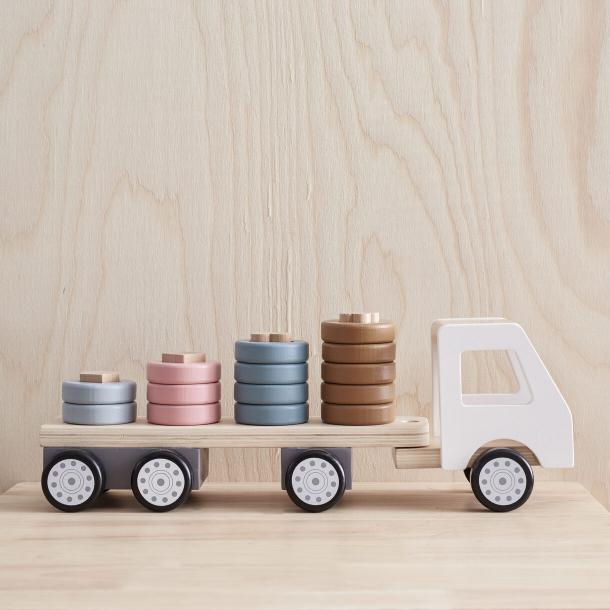 Kids Concept - lastbil med stabelringe
