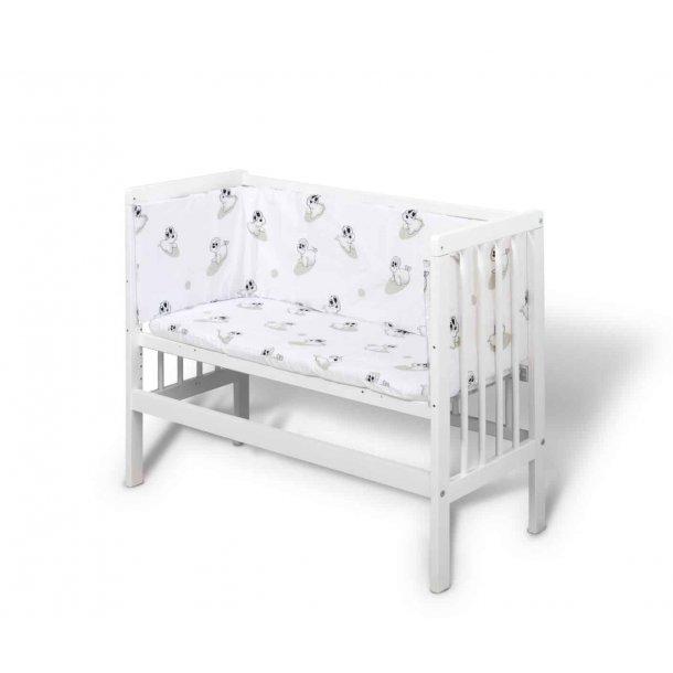 BabyTrold - Bedside Crib, Hvid