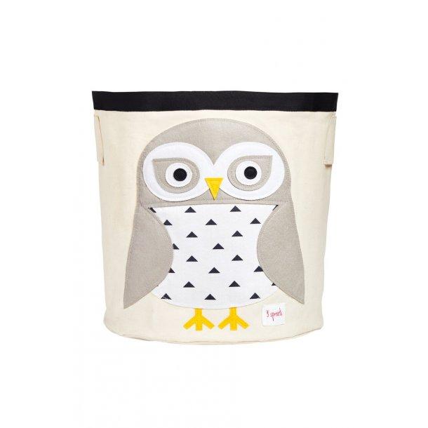 3 Sprouts - Opbevaringsbeholder Rund, owl