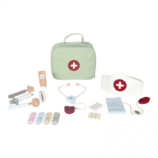 LITTLE DUTCH - Lægetaske m. udstyr