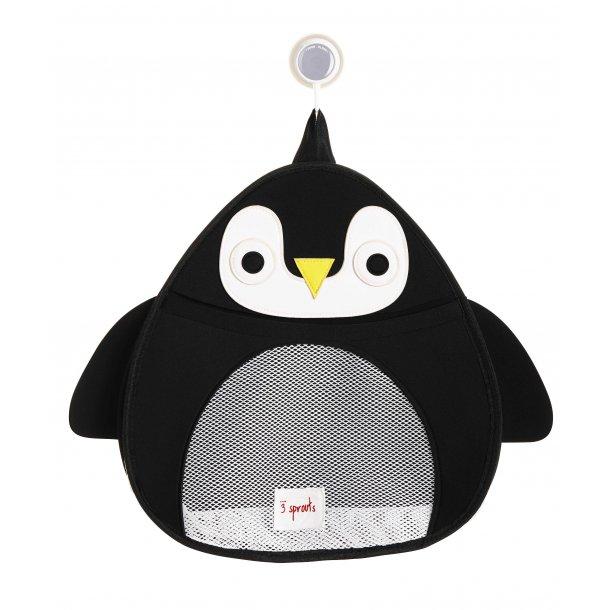 3 Sprouts - Opbevaringspose til badeværelset, Penguin