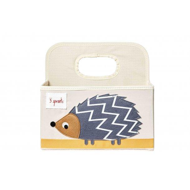 3 Sprouts - Opbevaringskurv med Hank til Bleer, Hedgehog