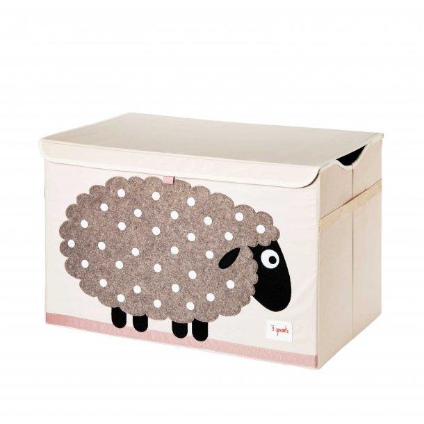 3 Sprouts - Opbevaringskasse med låg, Sheep
