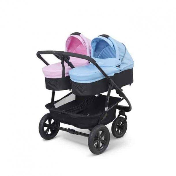 BabyTrold - Double sort/lyserød