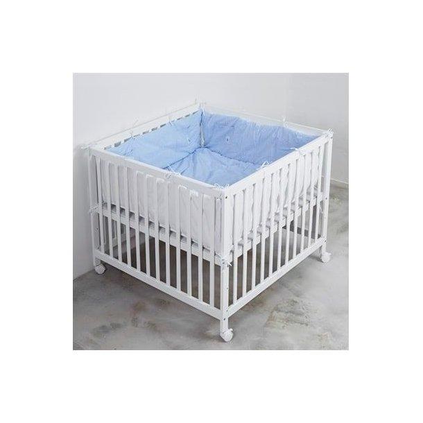 BabyTrold - Kravlegårdstæppe Blå Strib