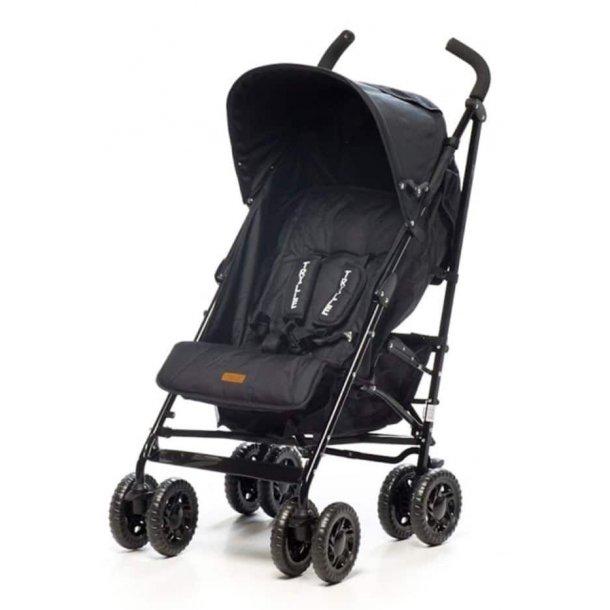 BabyTrold - Paraplyklapvogn Sprinter, Sort