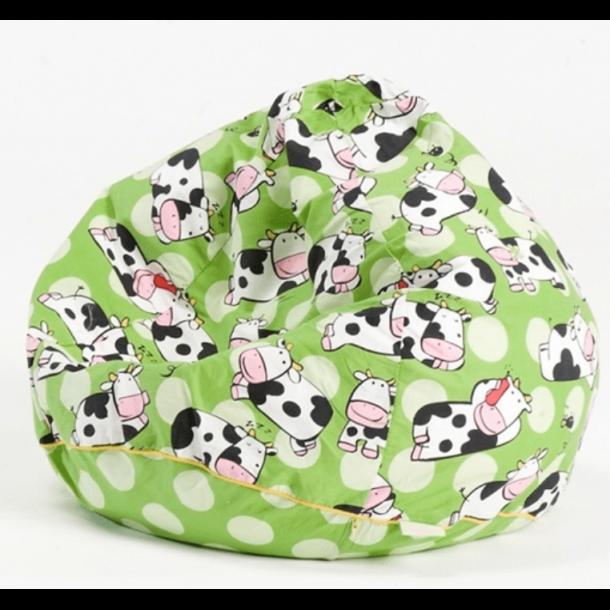 BabyTrold - Sækkestol Ko, Grøn