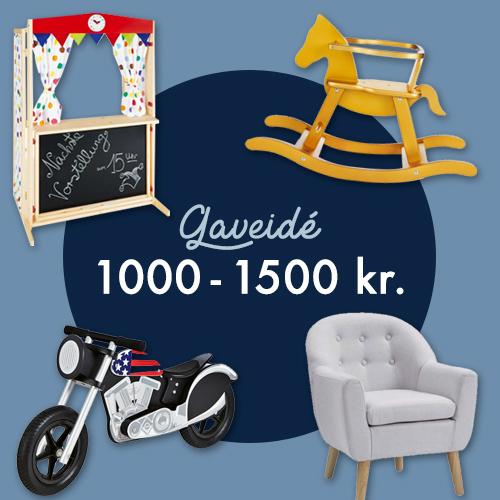 Gaveidé 1000 - 1500kr