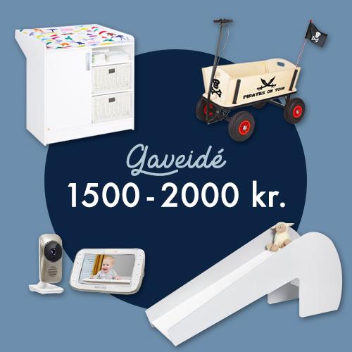 Gaveidé 1500 - 2000kr