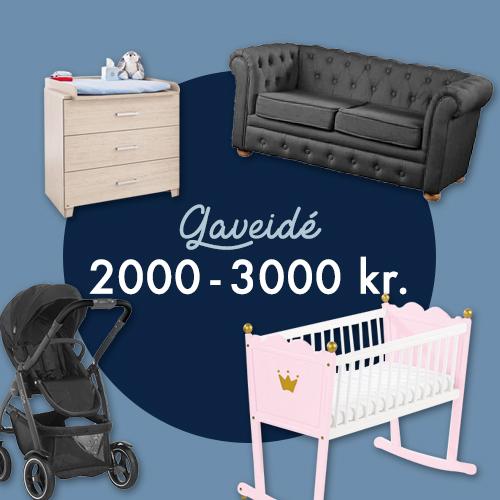 Gaveidé 2000 - 3000kr