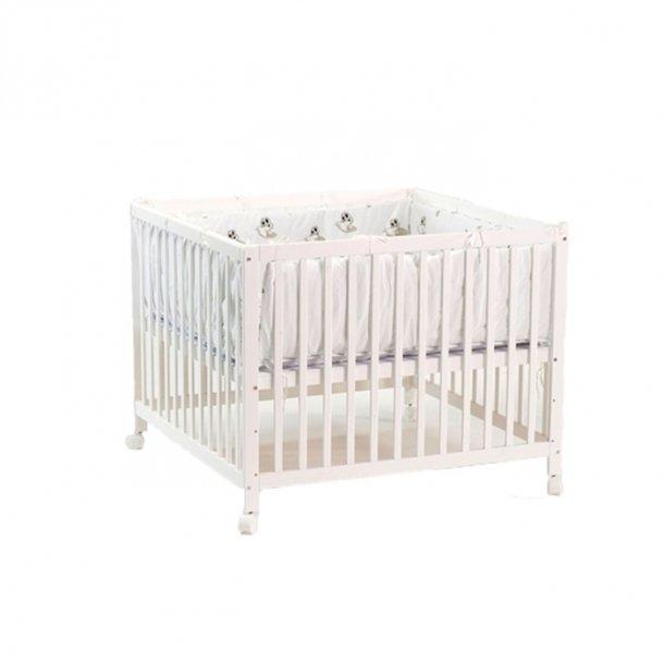 BabyTrold - Kravlegård Hvid 100x100