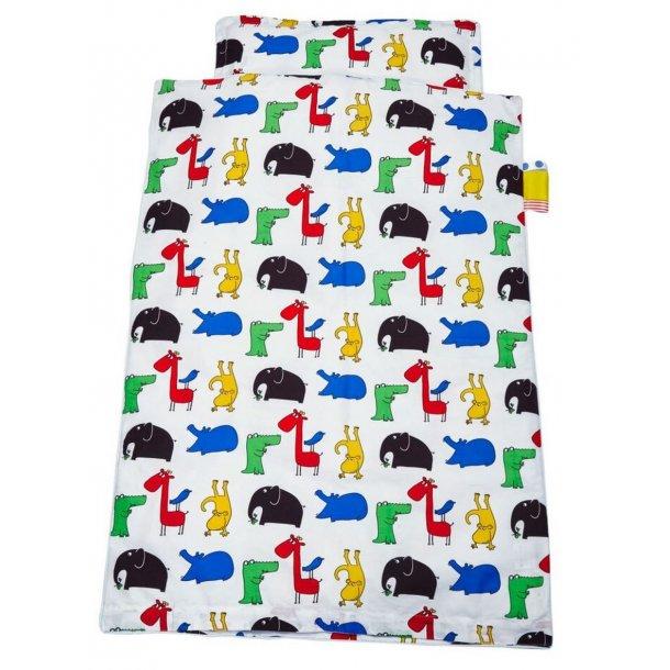 BabyTrold - Baby Sengetøj sæt 100x140 Jungle